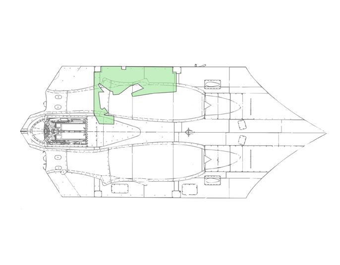 PR Jet Cutaway Front