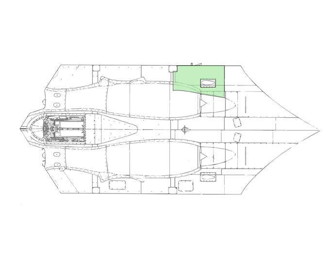 PR Jet Cutaway Rear