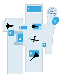 Udvar-Hazy Center Floorplan