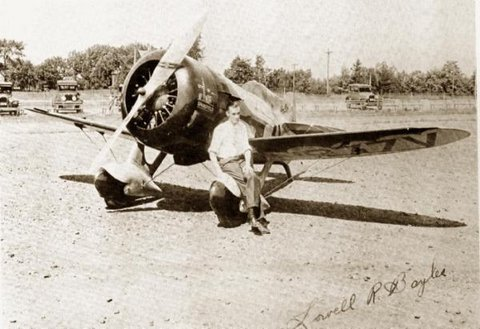 Lowell R  Bayles Gee Bee Pilot | National Air and Space Museum