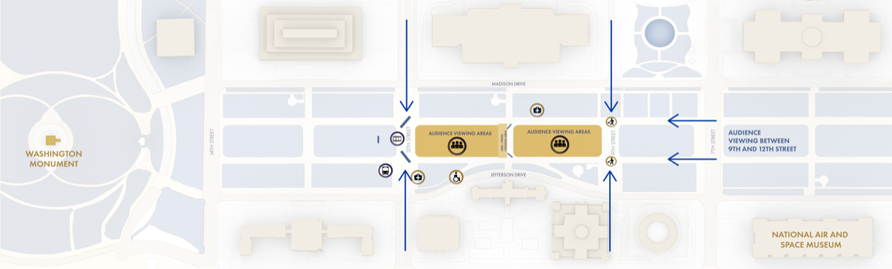 map of mall event