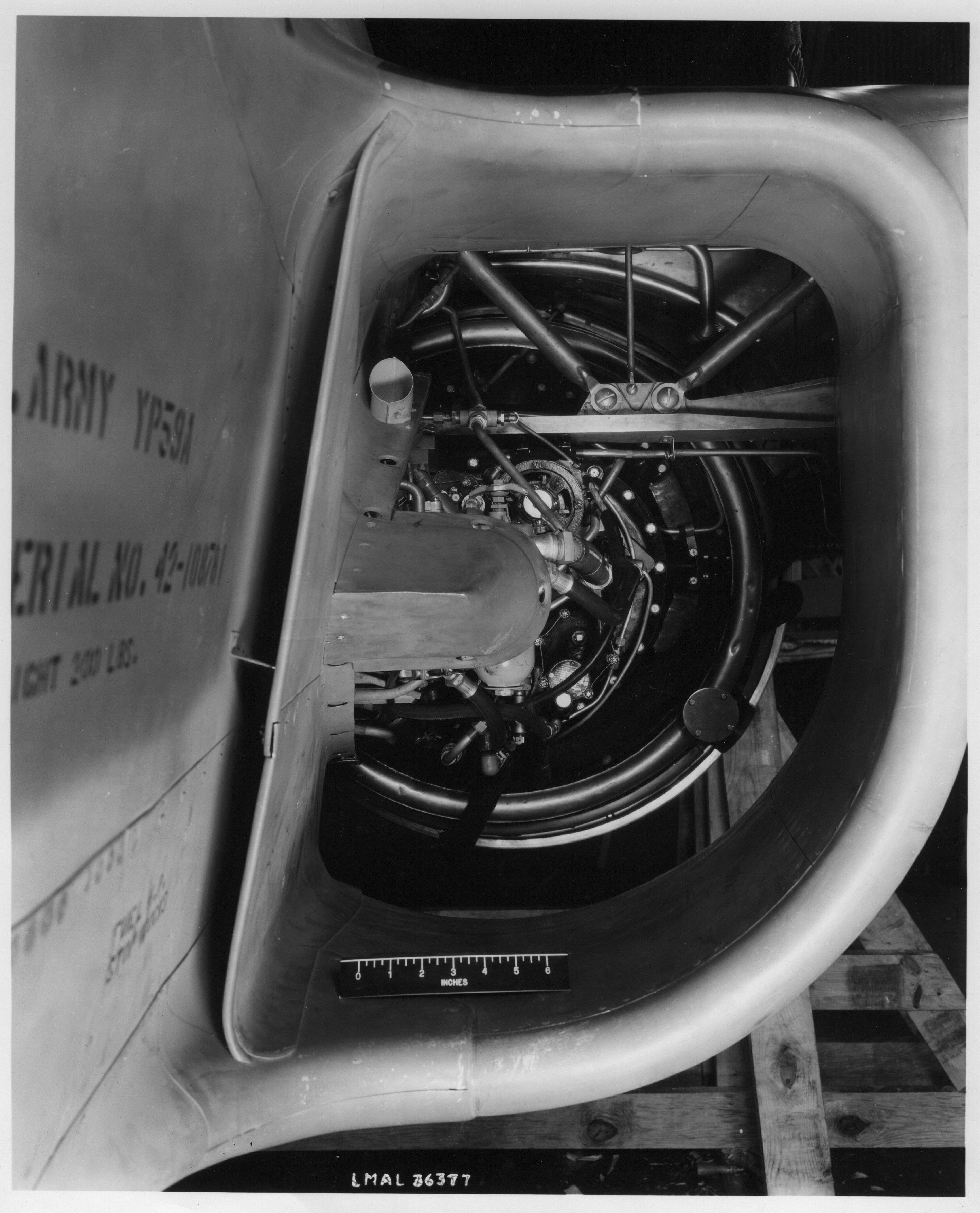 YP-59A Intake