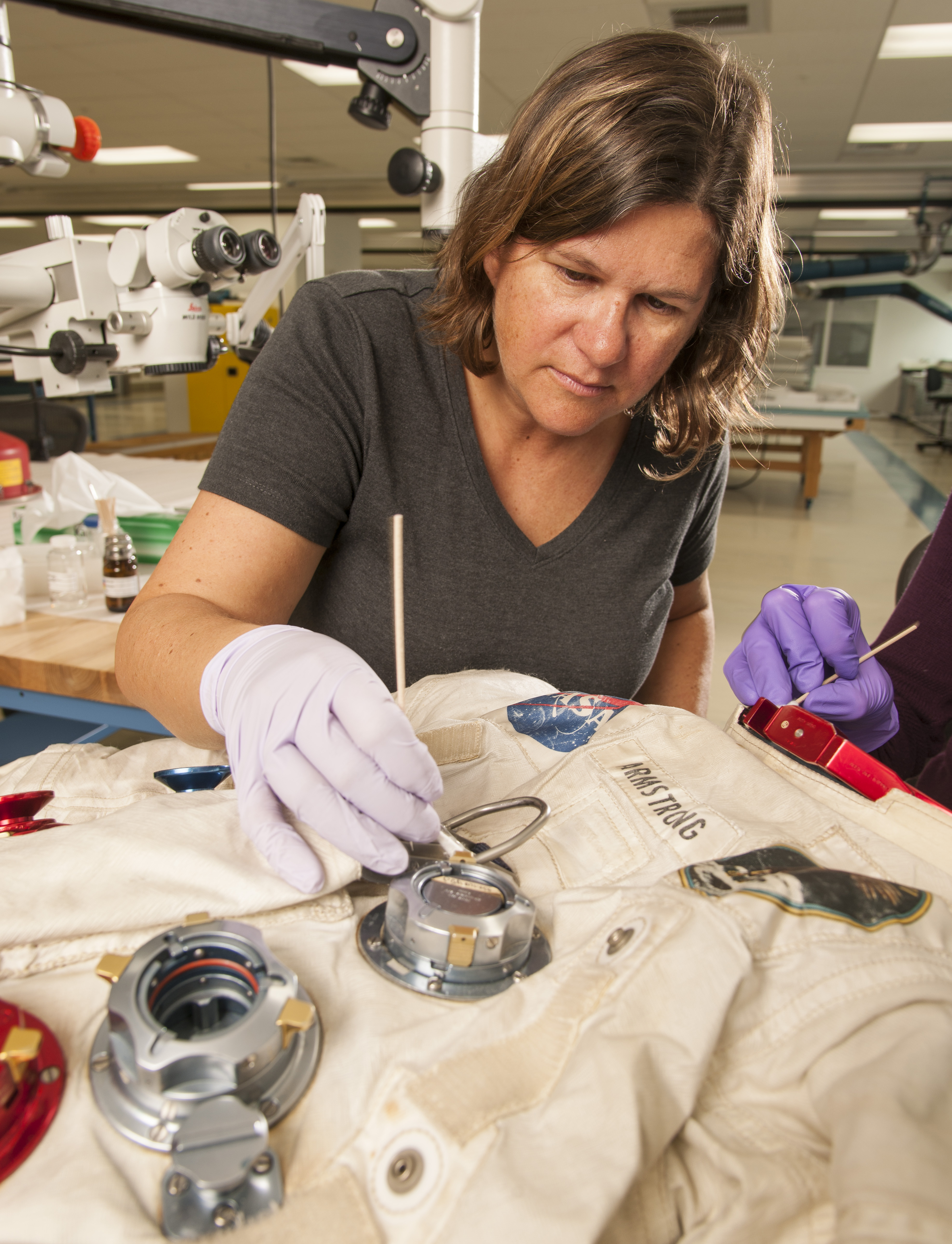 Conserving Armstrong's Spacesuit