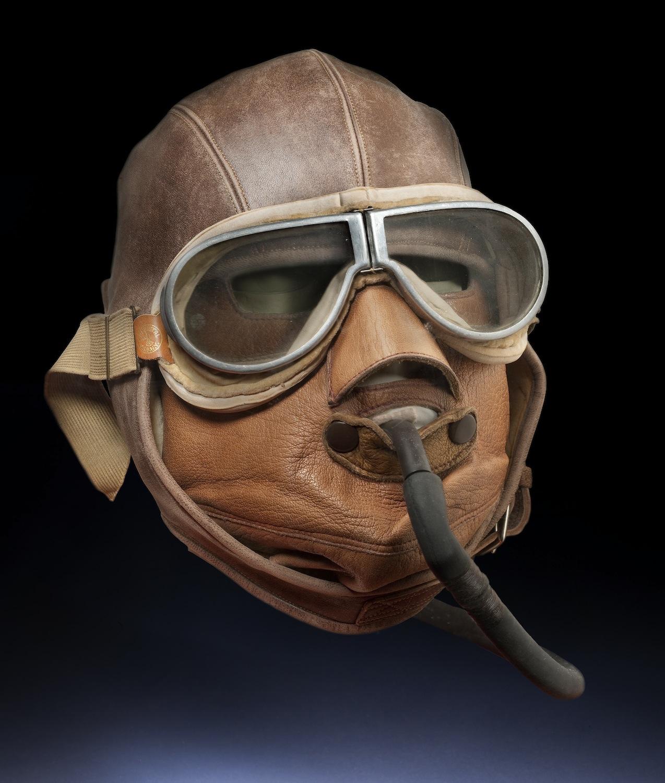 Aviator Leather Mask