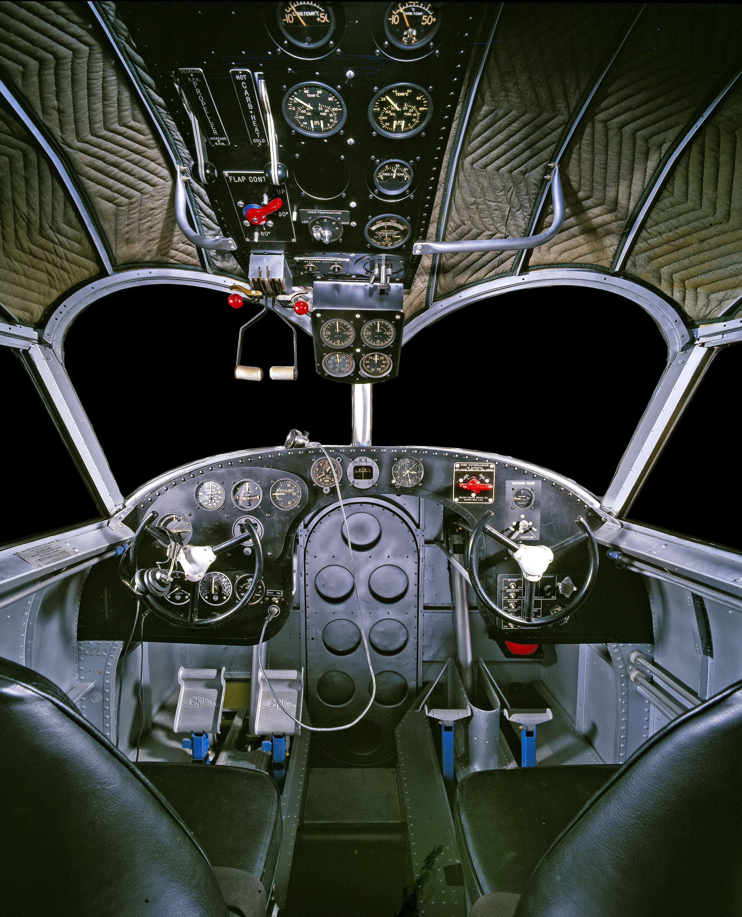 "Grumman G-21 ""Goose"" Cockpit"