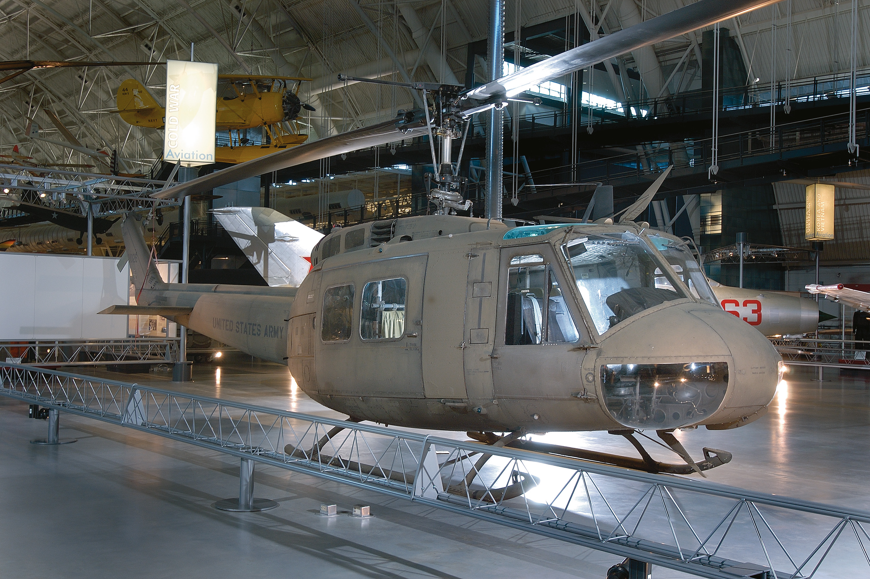 "Bell UH-1H Iroquois ""Huey"" at the Udvar-Hazy Center"