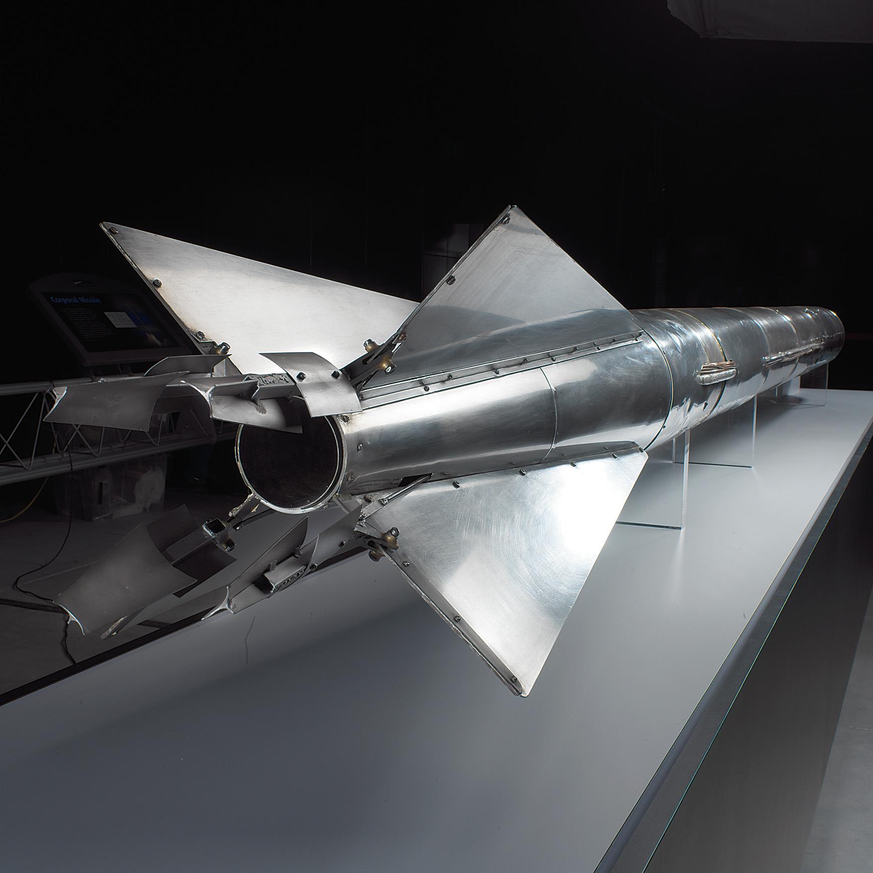 Goddard 1935 A-Series Rocket at the Udvar-Hazy Center