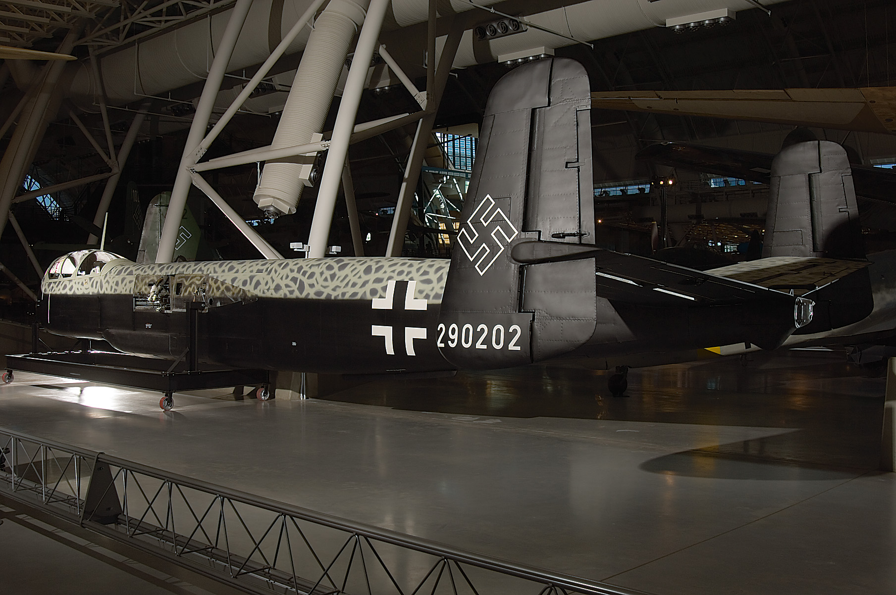 Heinkel He 219 A Uhu at the Udvar-Hazy Center
