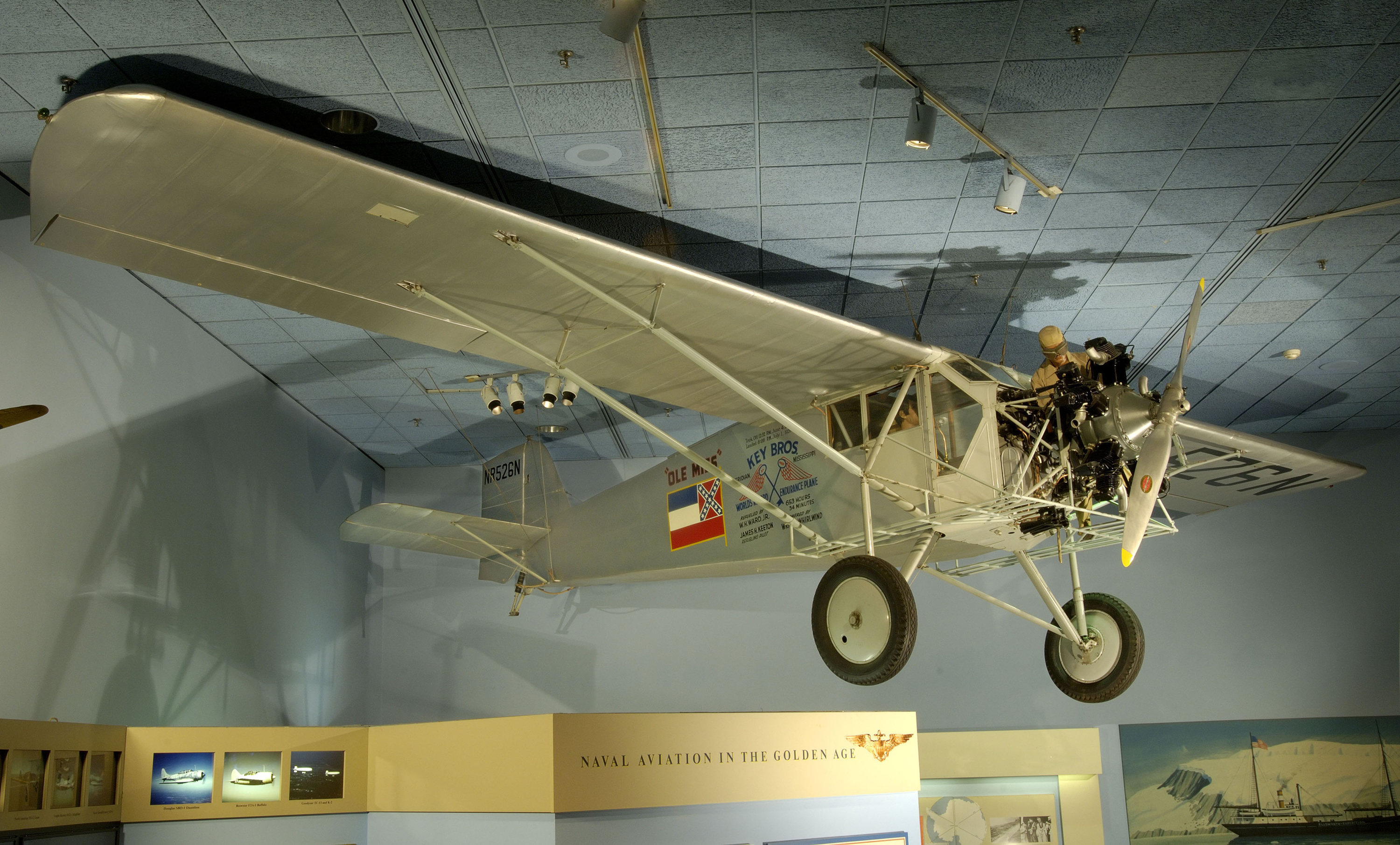 Curtiss Robin J-1 (Model 50H) Ole Miss