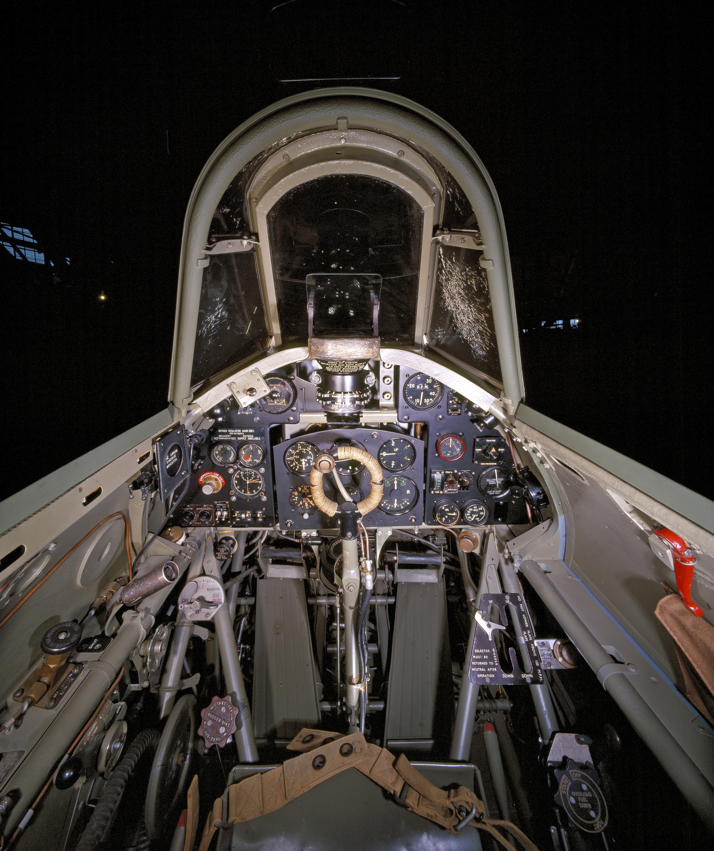 Hawker Hurricane Mk. IIc Cockpit