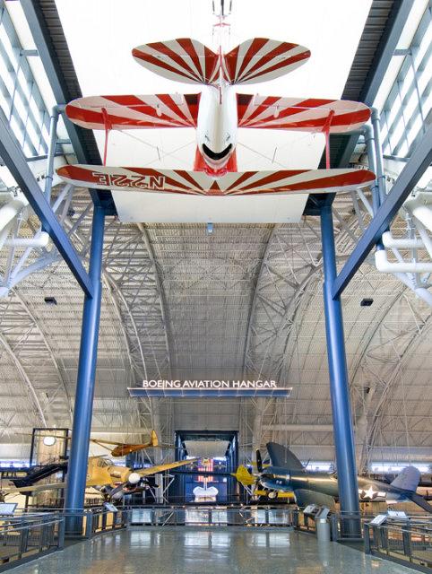 Boeing Aviation Hangar at the Steven F. Udvar-Hazy Center