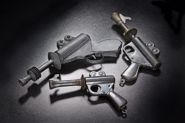 Buck Rogers Ray Guns