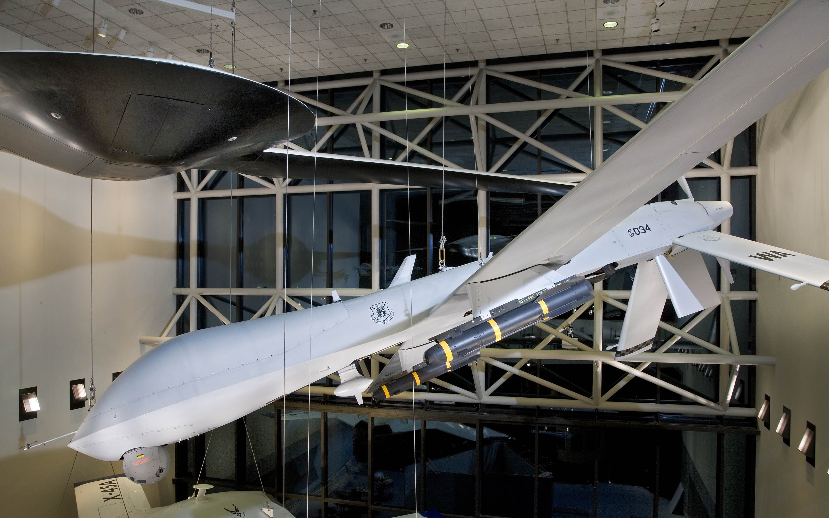 Military Unmanned Aerial Vehicles Exhibit National Air And
