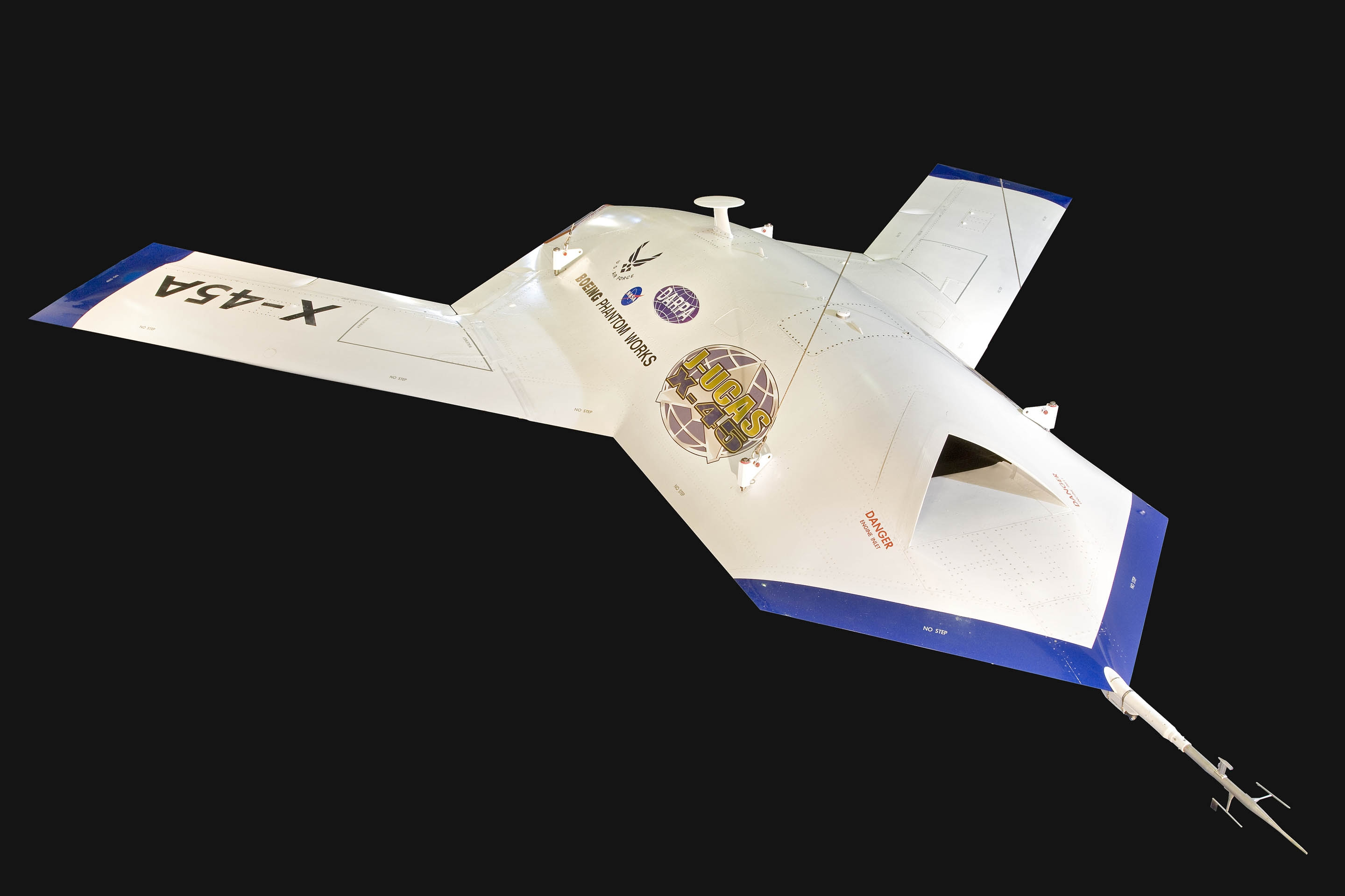 Boeing X-45A in the Military Unmanned Aerial Vehicles (UAV)