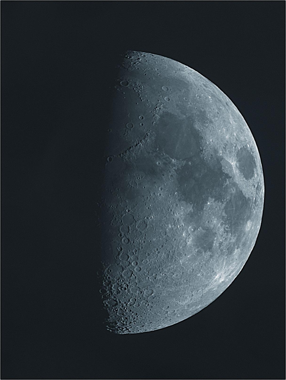 Gibbous Moon - Mar 1, 2012