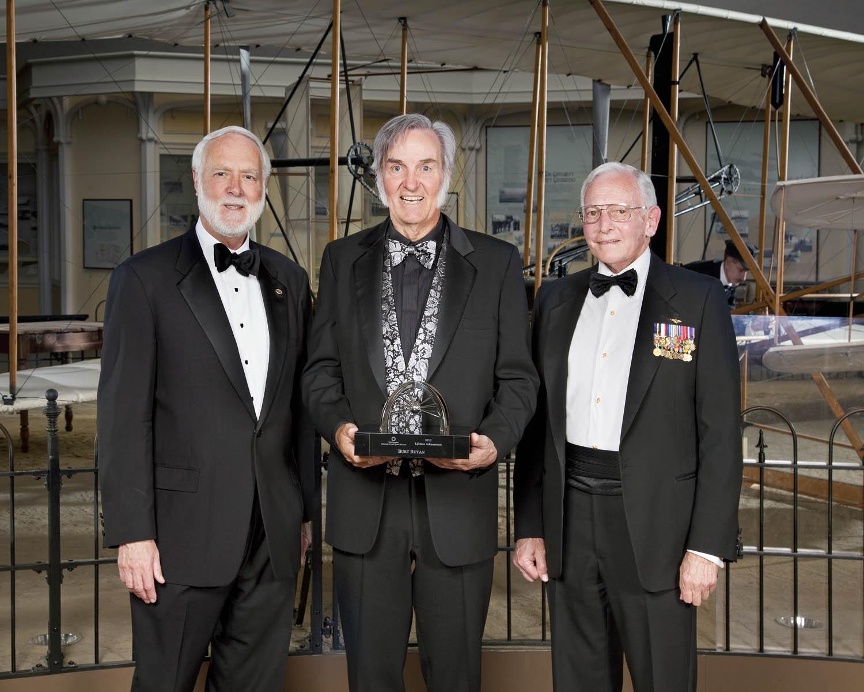 Trophy Lifetime Achievement Winner 2012 - Burt Rutan