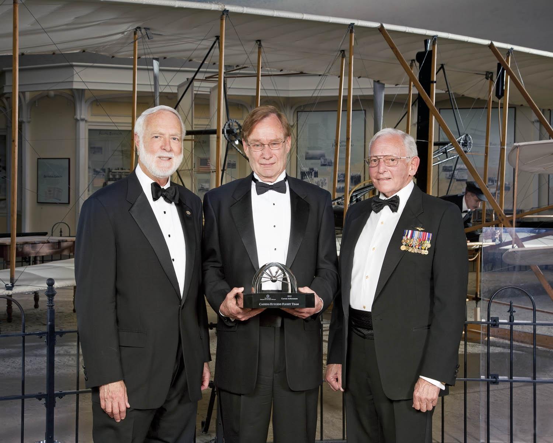 Trophy Current Achievement Winner 2012 - Cassini-Huygens Flight Team