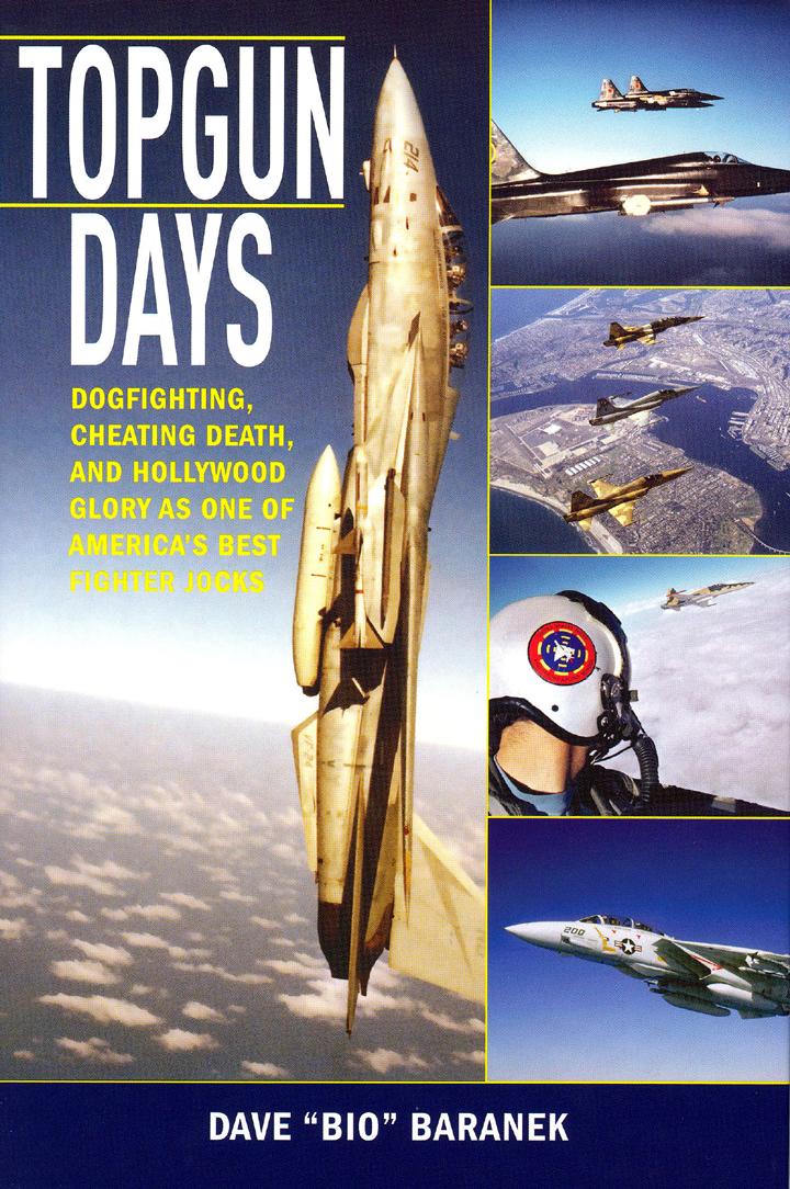 Book Cover--Top Gun Days