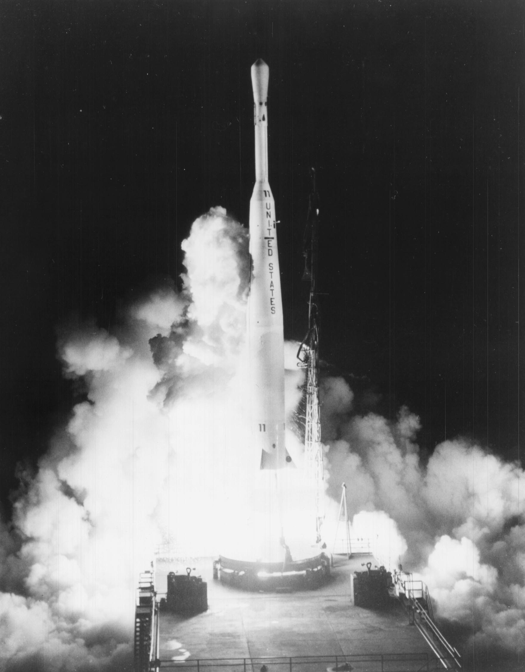 Launch of Telstar 1