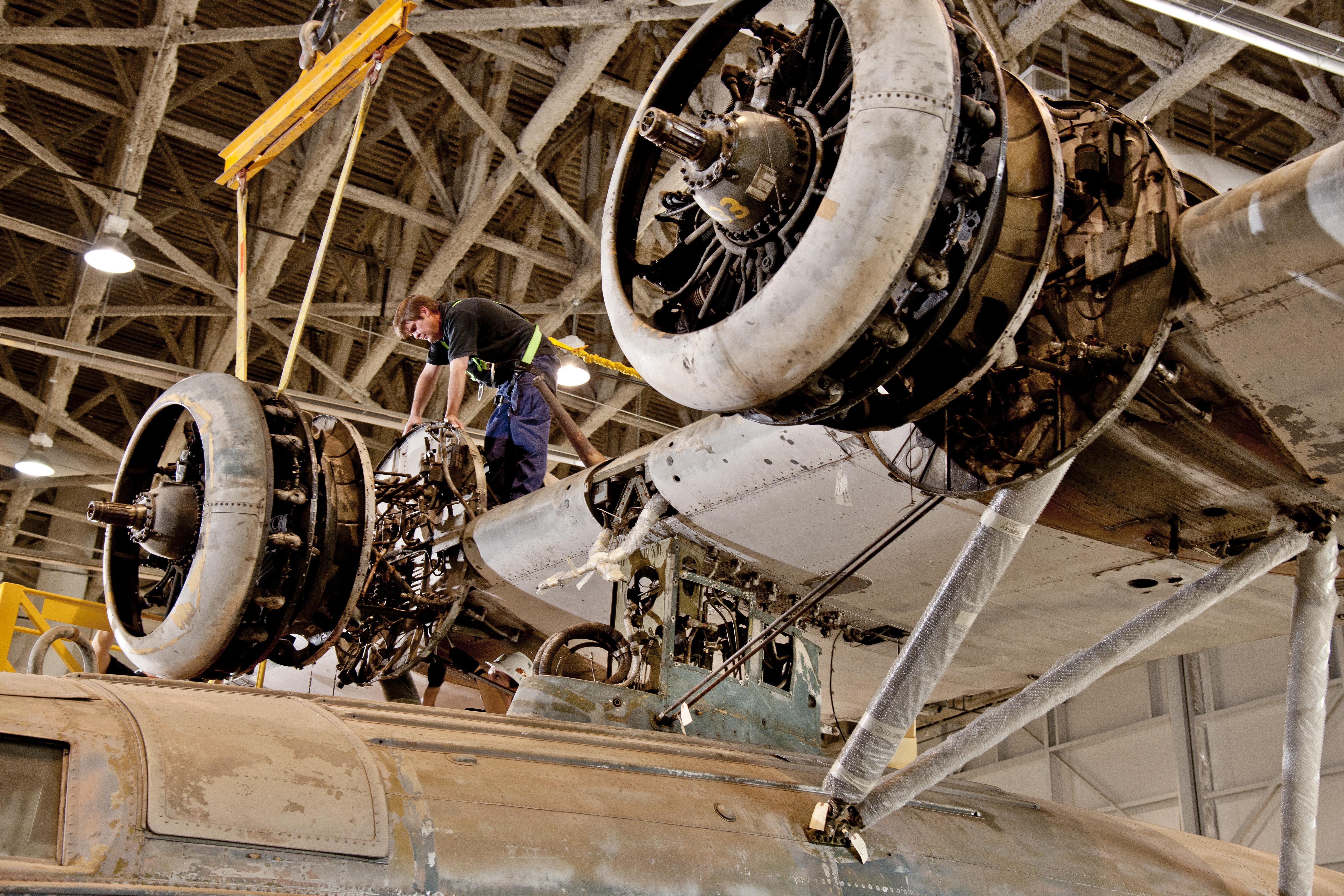 Sikorksky JRS-1 Engine
