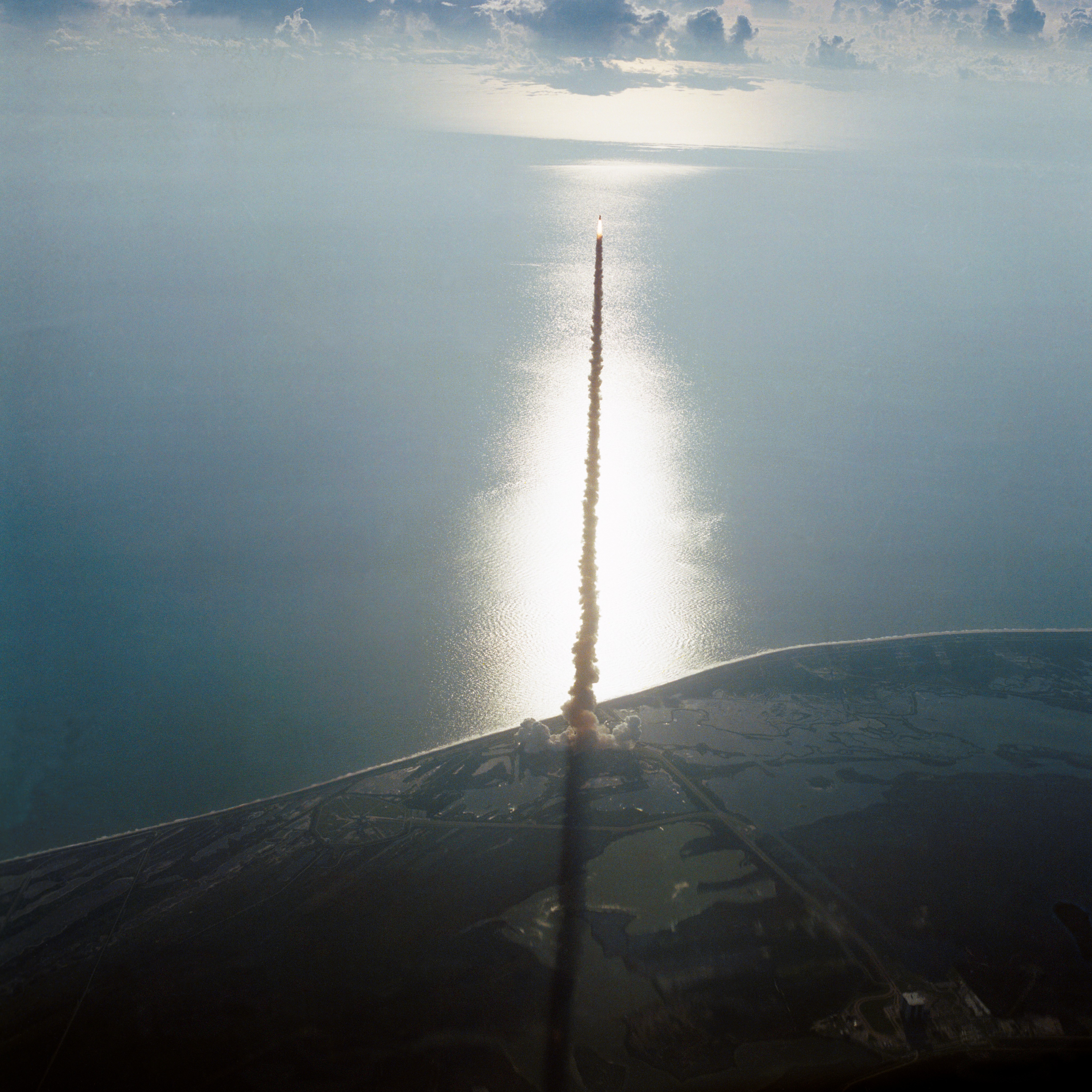 First Launch of Space Shuttle Discovery