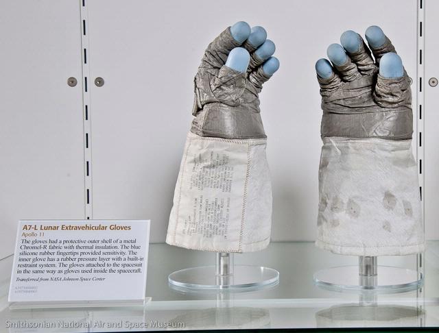 Apollo 11 Extra-Vehicular Gloves
