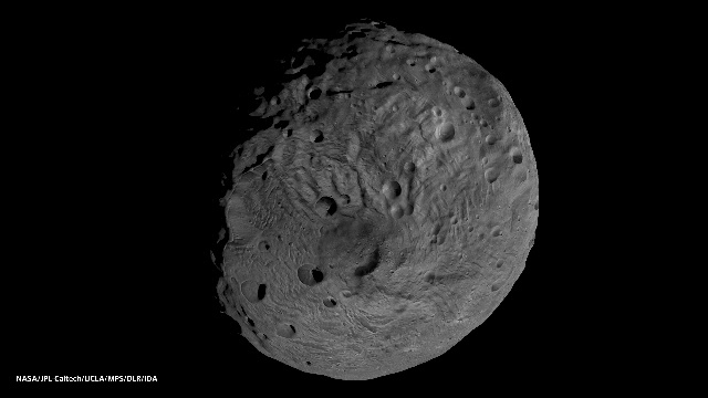 South Pole of the Asteroid Vesta
