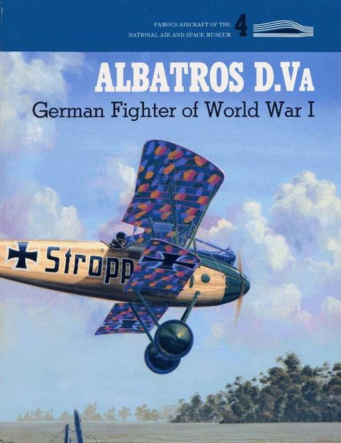 Book cover: Albatros D.Va