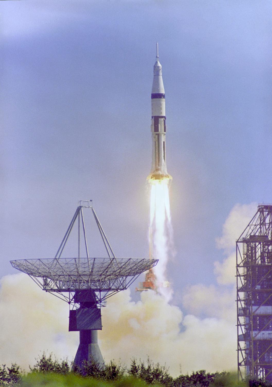 Launch of Apollo 7