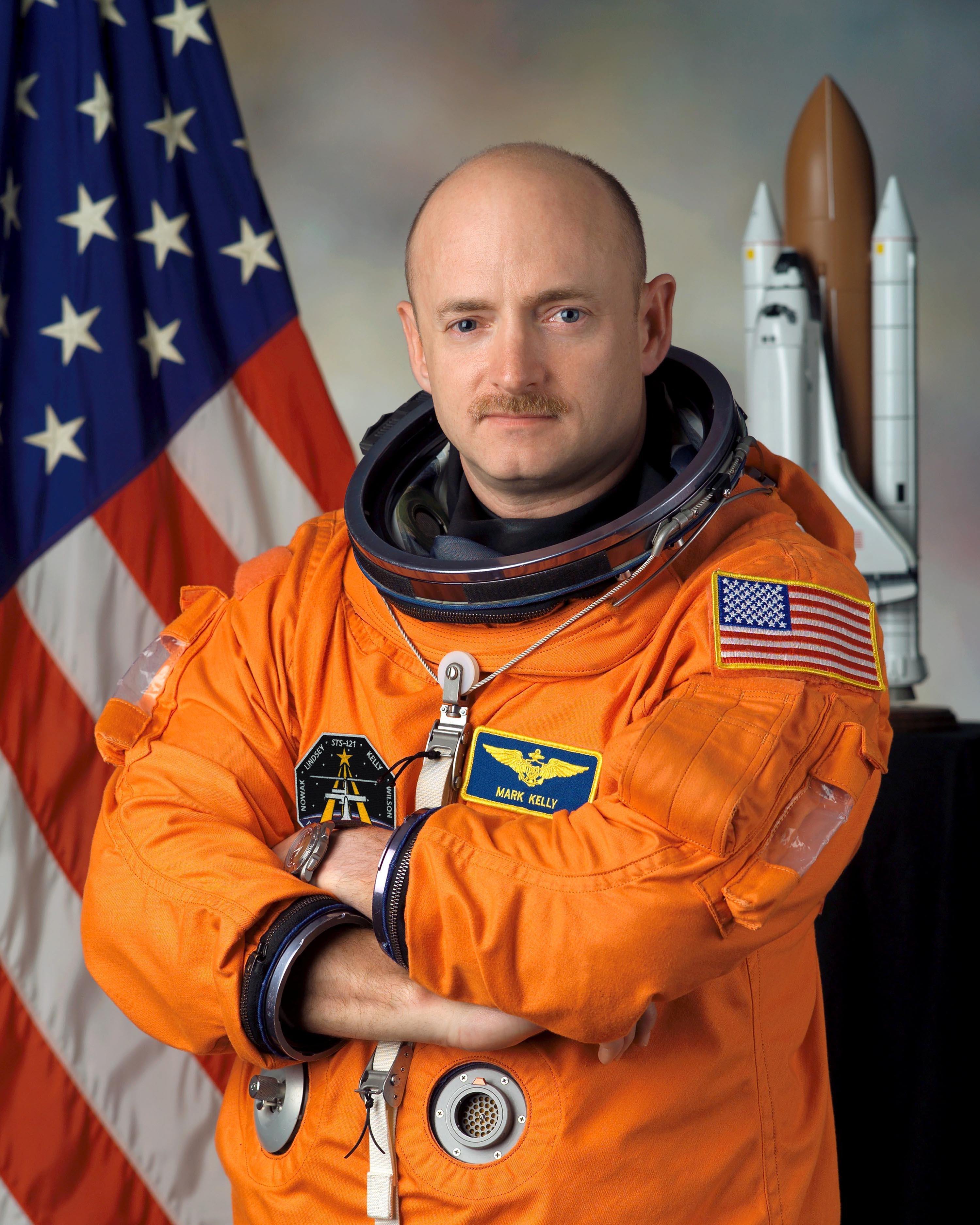Commander Mark Kelly