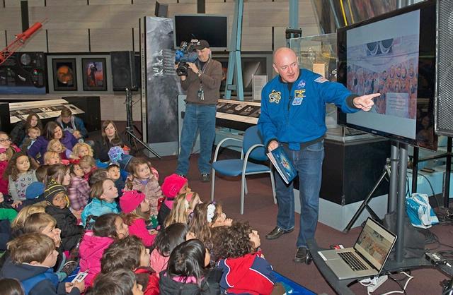 Former Astronaut Mark Kelly