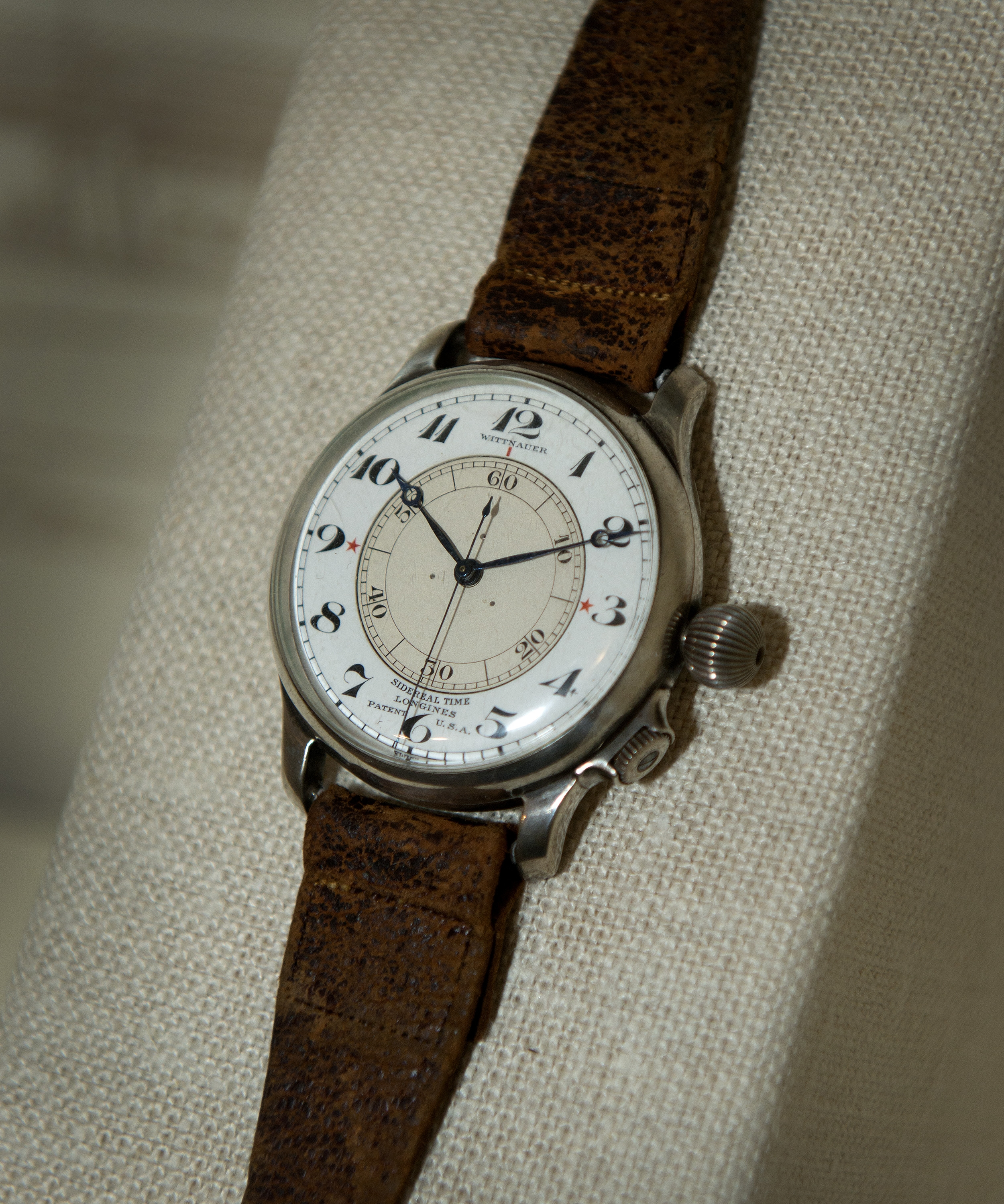 Longines Sidereal Second-Setting watch