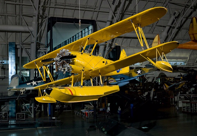 Naval Aircraft Factory N3N-3 Yellow Peril