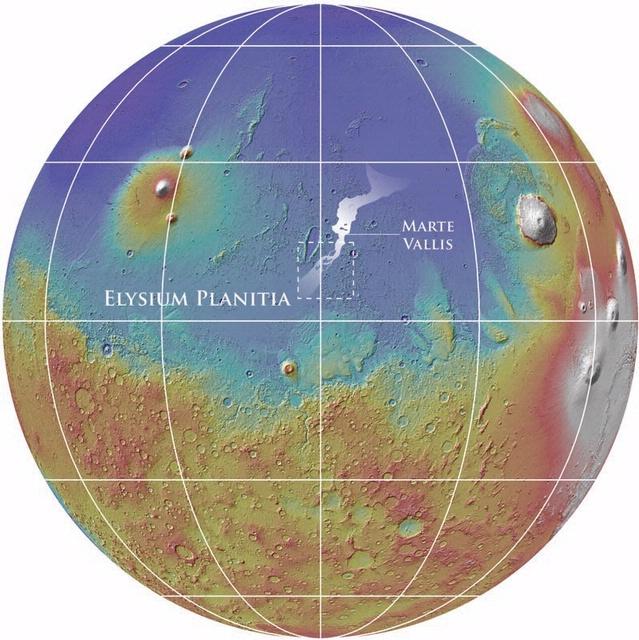 Marte Vallis (Fig. 1)