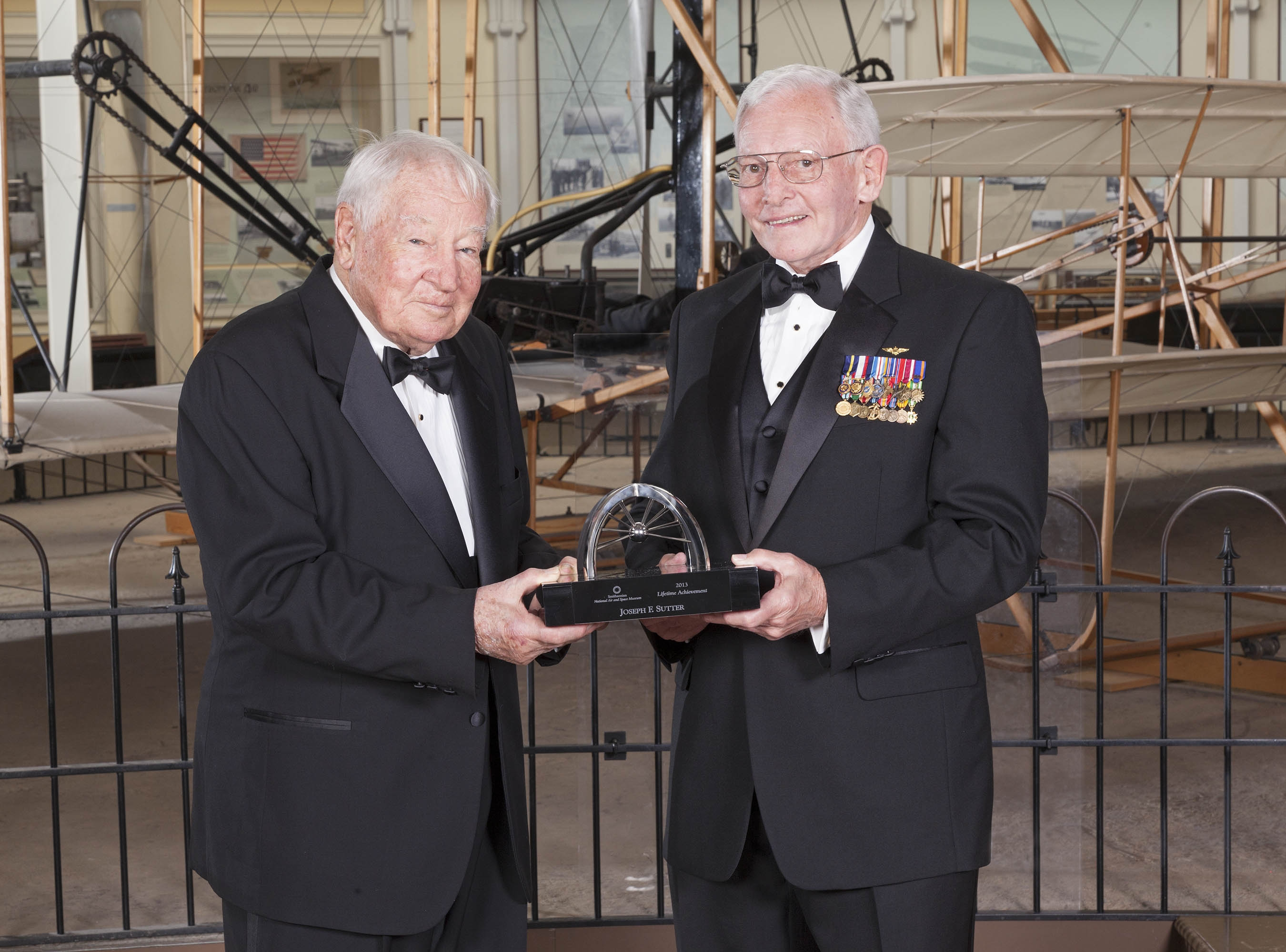 Joseph Sutter and Gen. Jack Dailey