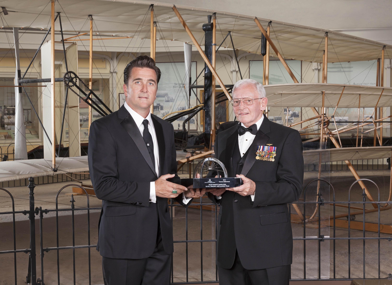 Dr. Adam Steltzner with Gen. Jack Dailey