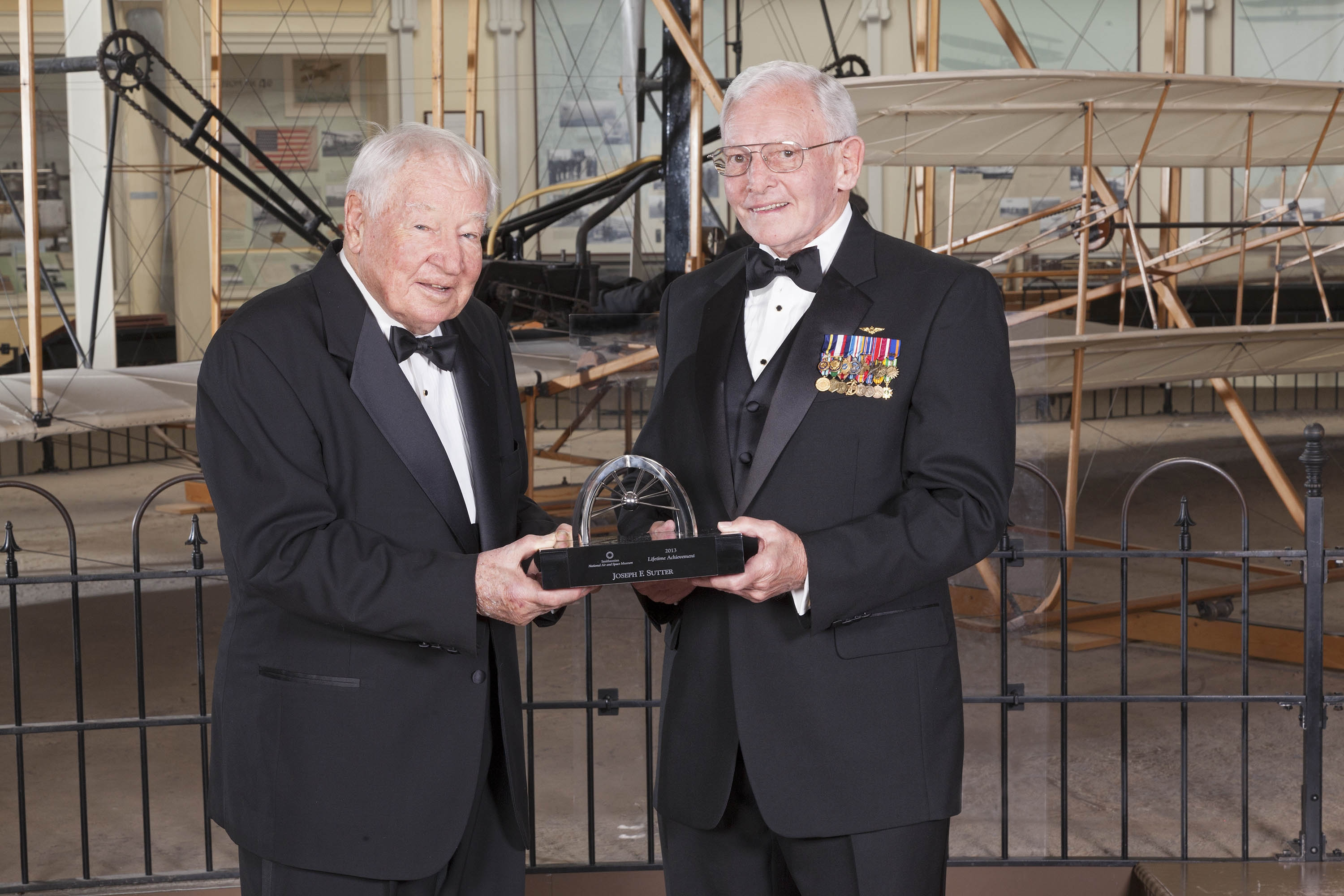 Joseph Sutter and General Jack Dailey