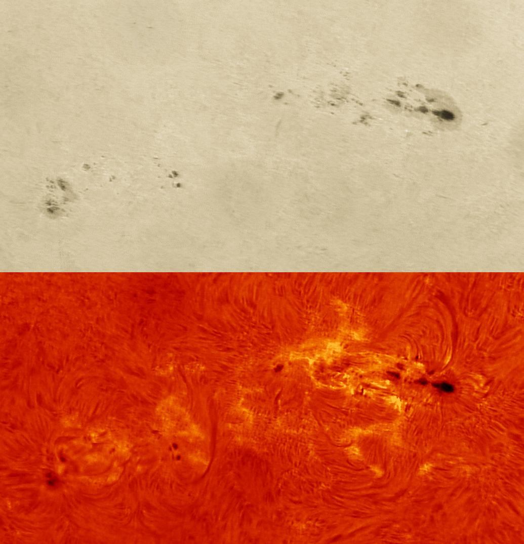 A Large, Active Sunspot - July 7, 2013