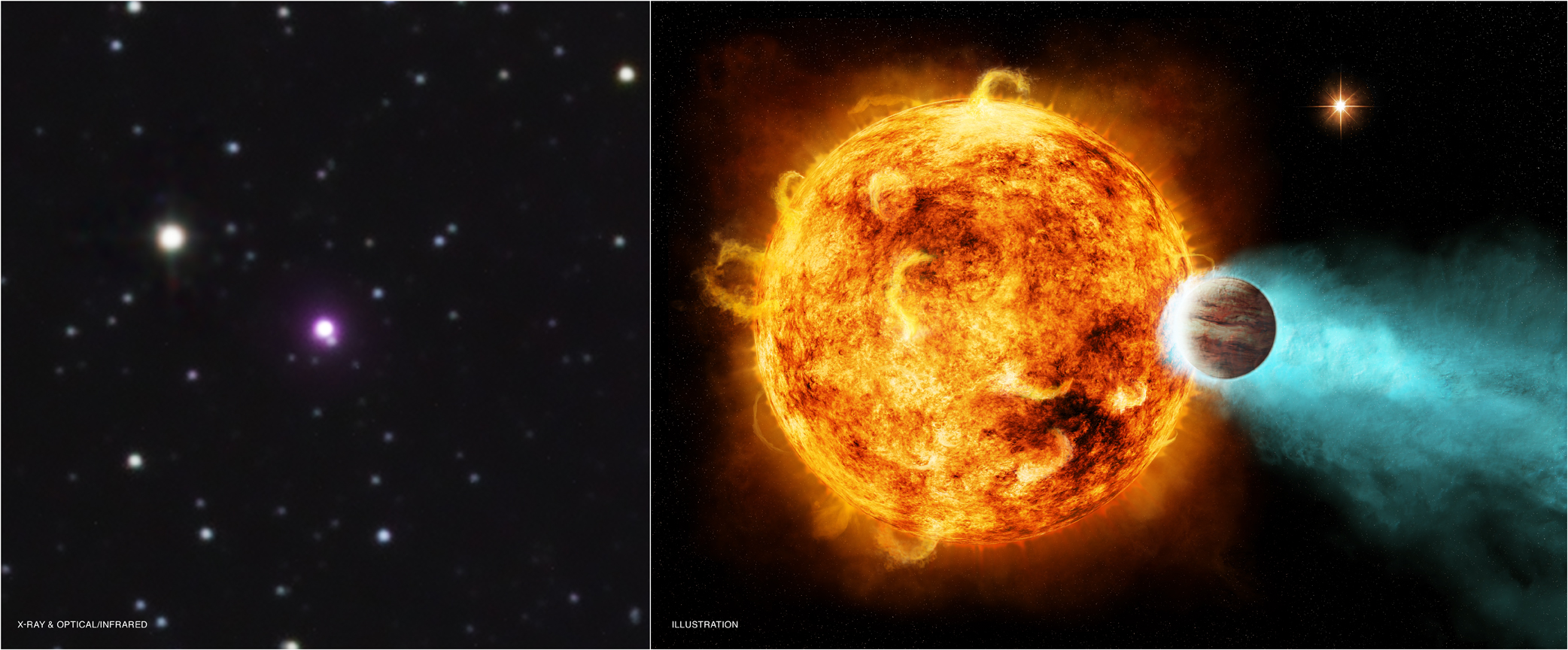 CoRoT-2a: Star Blasts Planet With X-rays