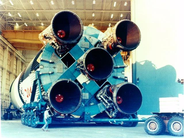 Saturn V Aft End