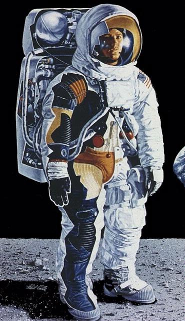 Apollo A7L Spacesuit Cutaway