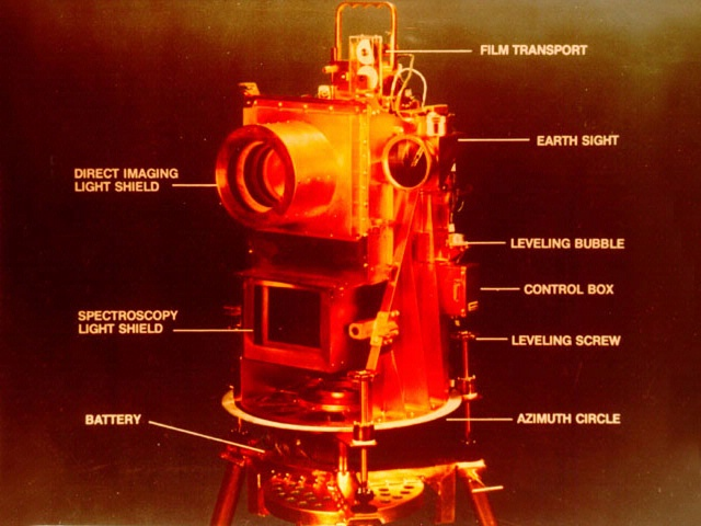 Apollo 16 Carruthers Telescope Diagram