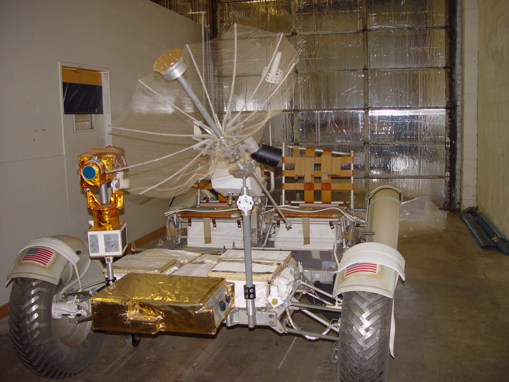 Lunar Mission Control Camera