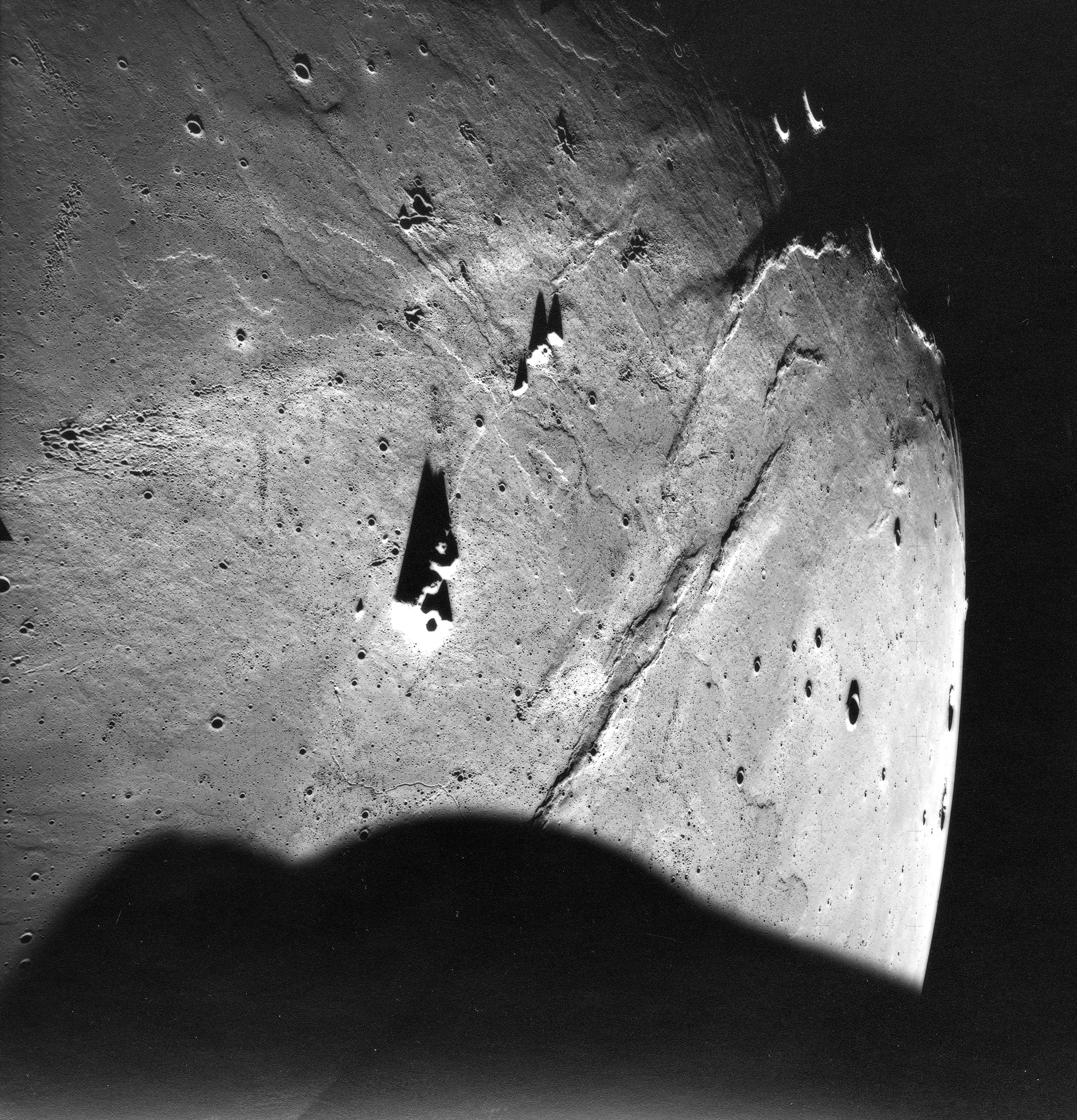 Lunar Basalt Flows