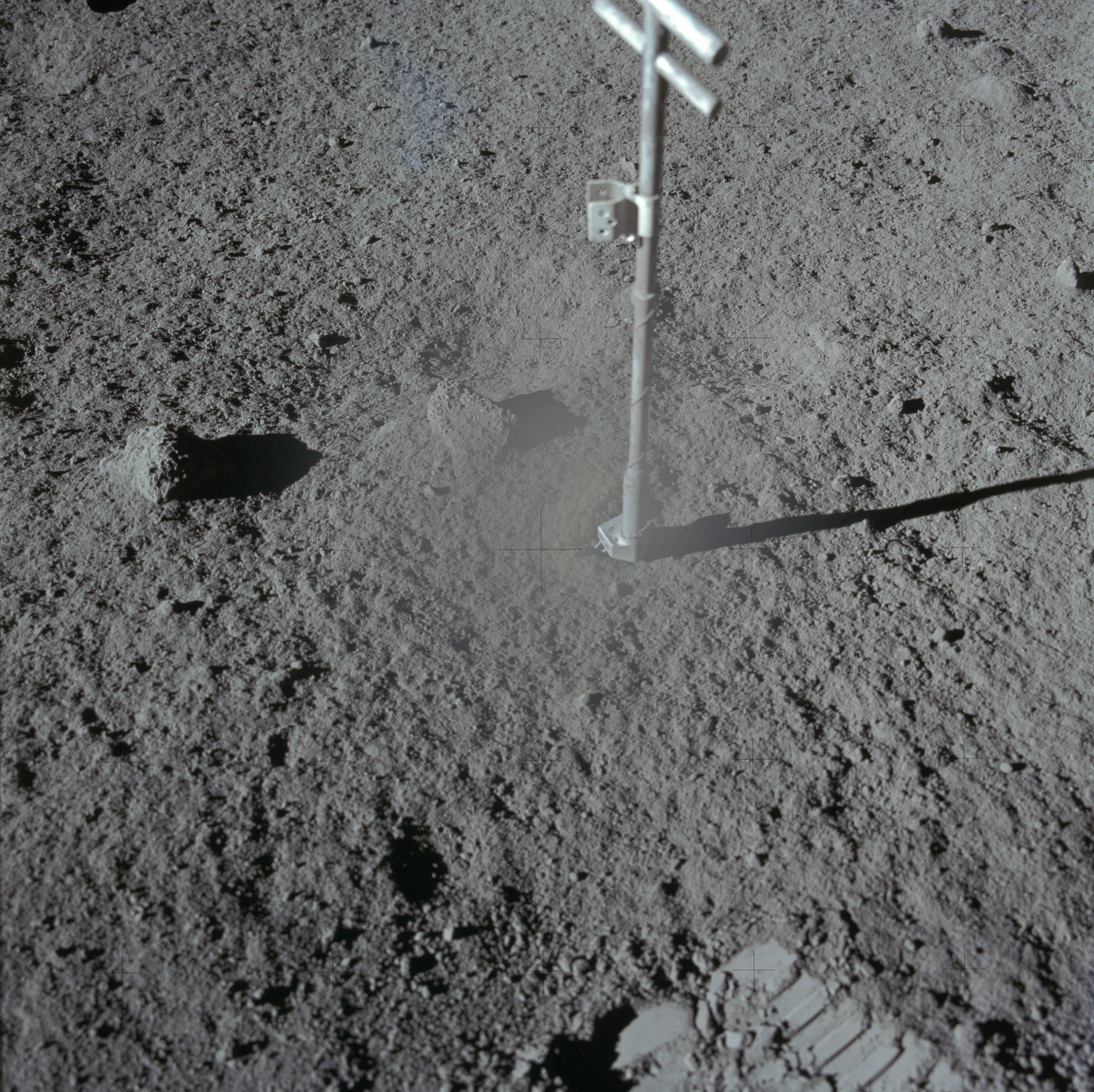 Lunar Basalt Surface Sample