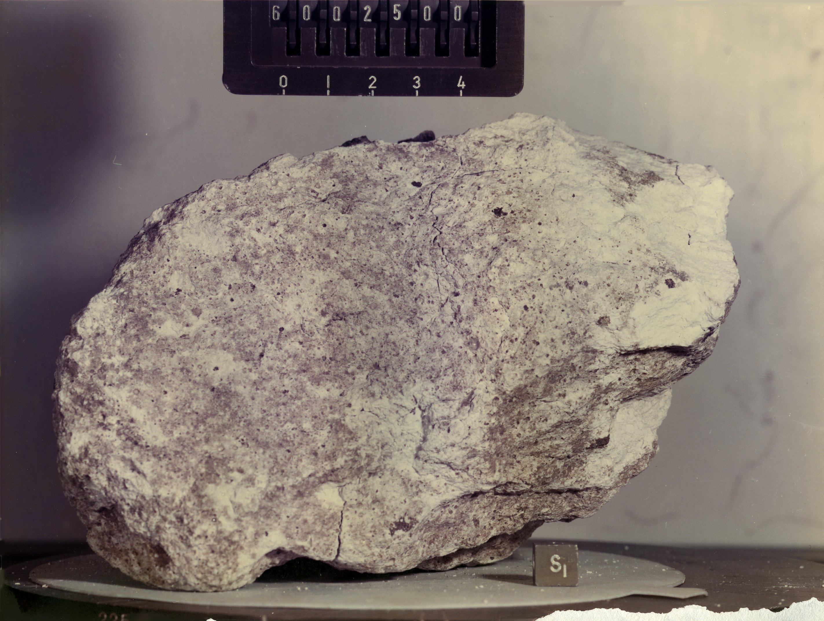 Lunar Anorthosite Sample