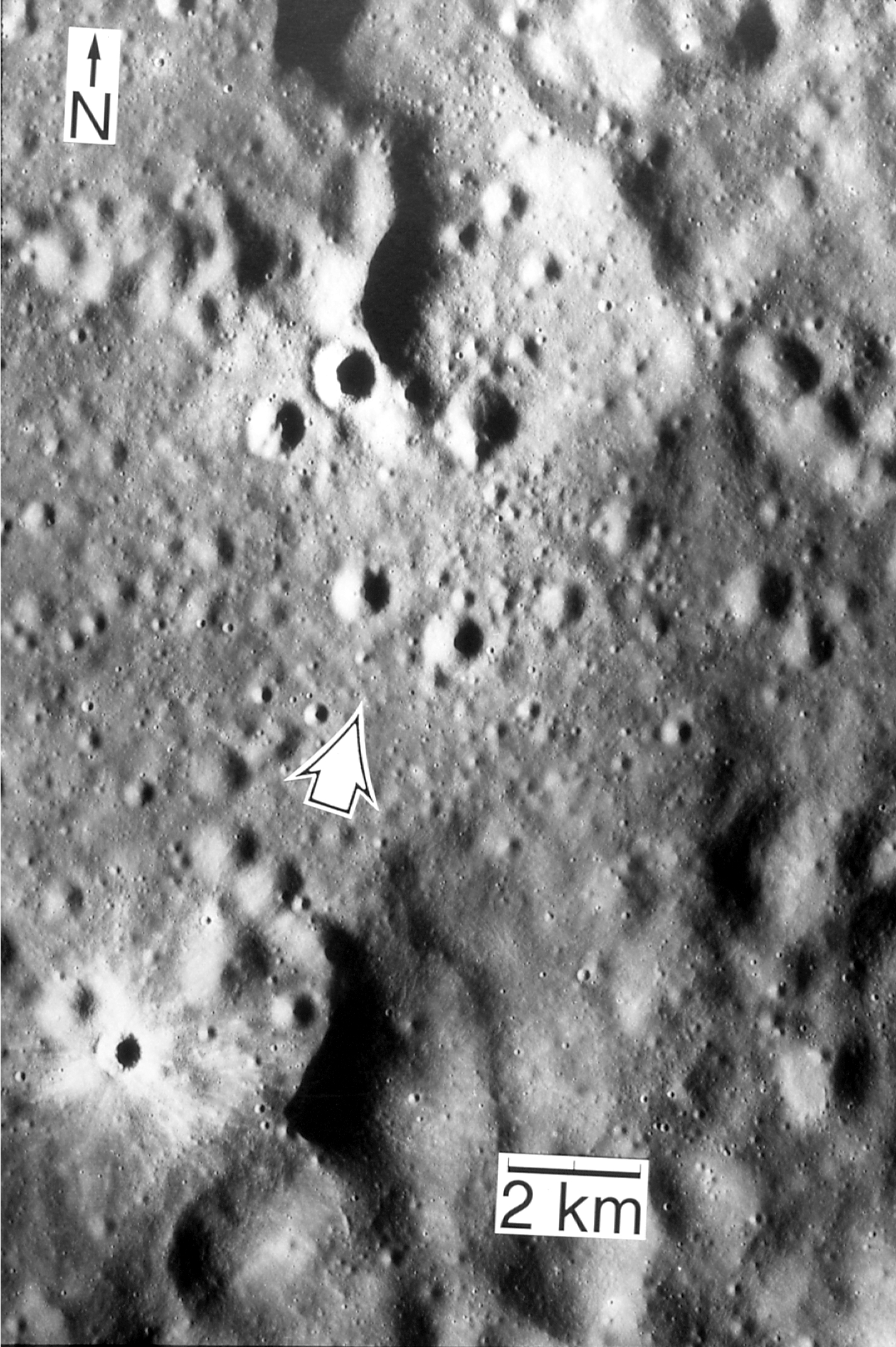 Apollo 16 Landing Site