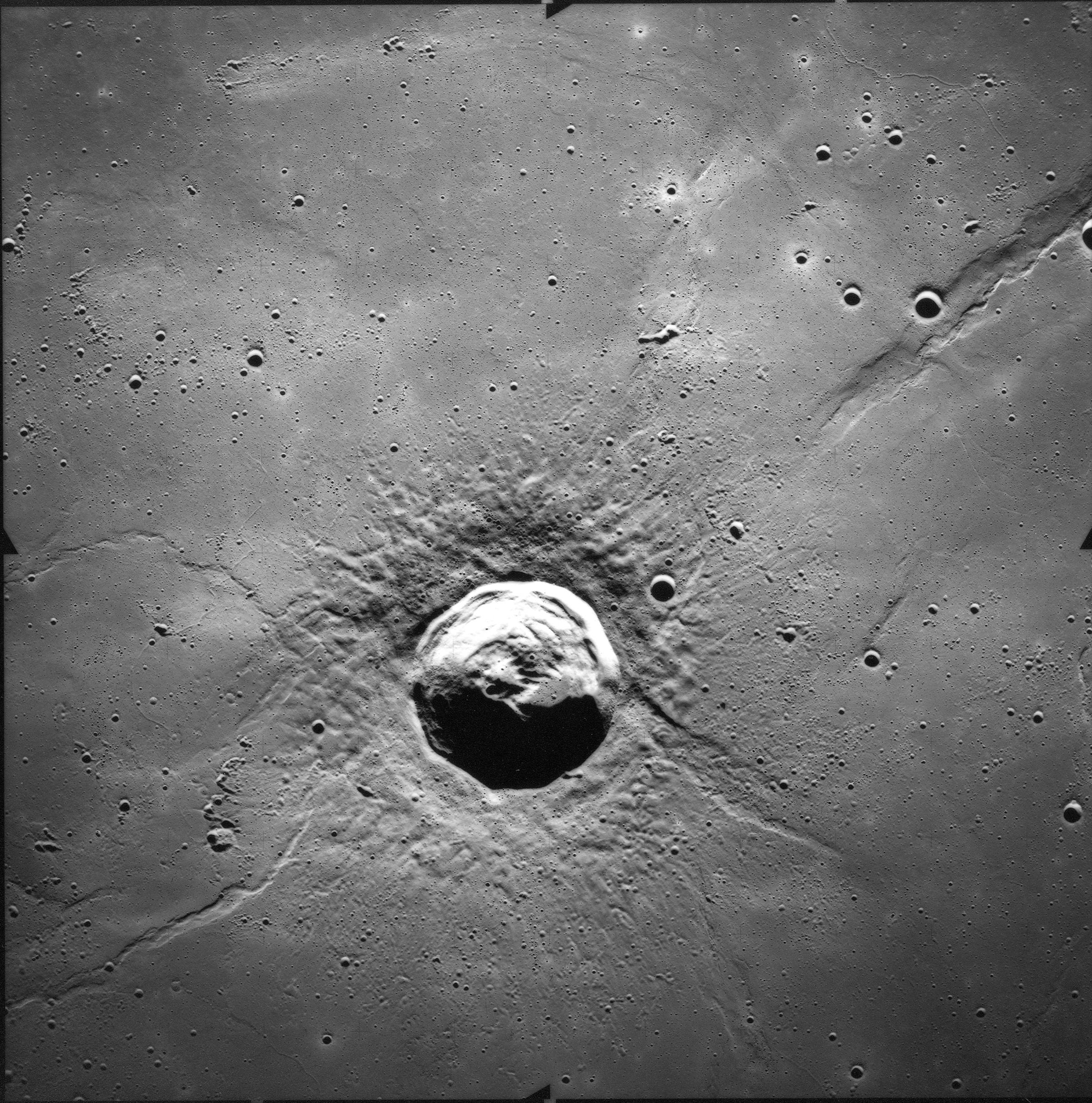 Lunar Crater Lambert