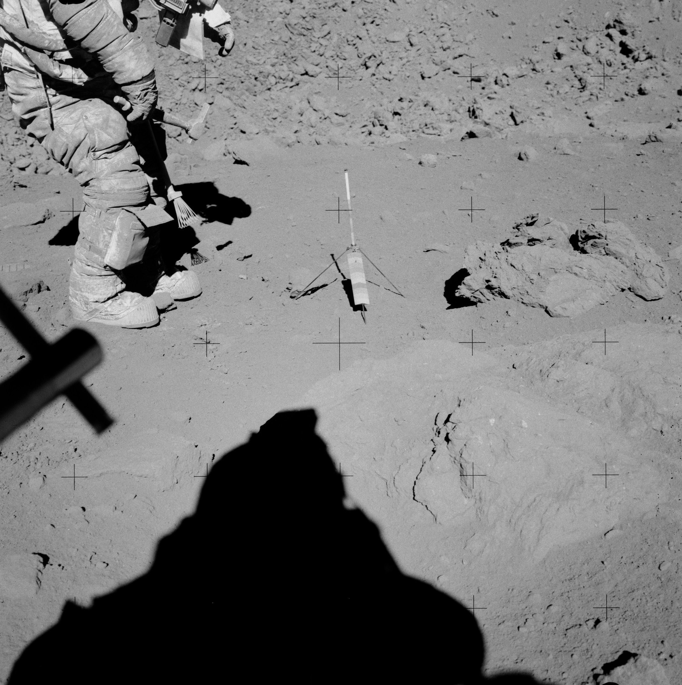 Lunar Breccia Surface Sample