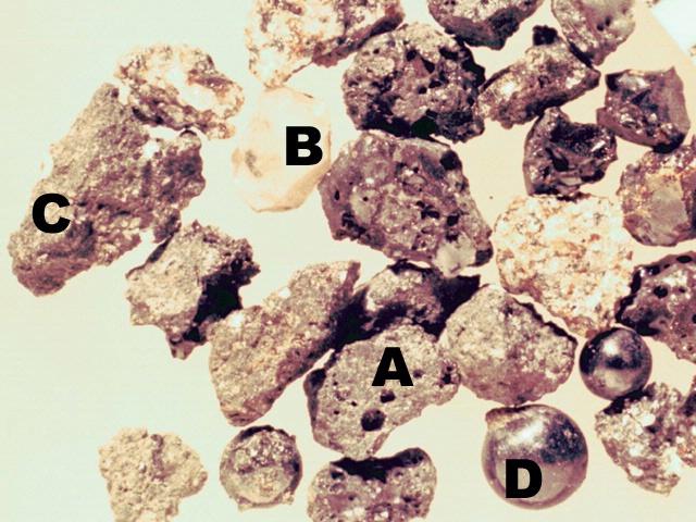 Lunar Soil Particles